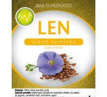AWA superfoods Len zlatý mletý 500g