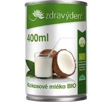 Kokosové mléko BIO 400 ml