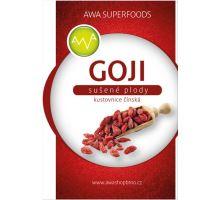 AWA superfoods Goji kustovnice čínská sušené plody 250g
