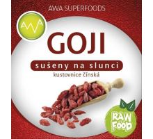 AWA superfoods Goji sušené plody BIO RAW 1000g