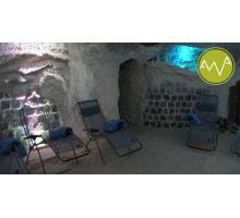 Solná jeskyně-cvičení pro těhotné