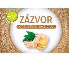 AWA superfoods zázvorová šťáva 250 ml