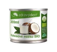Kokosové mléko BIO 200 ml