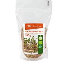 Směs semen na klíčení BIO - brokolice, ředkev červená, jetel 200g