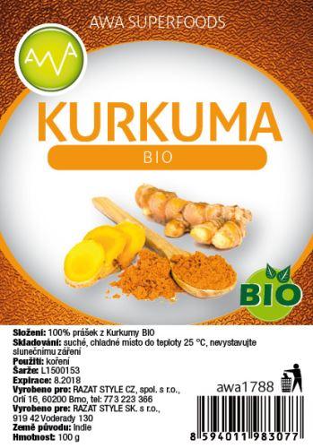AWA superfoods Kurkuma BIO 100g