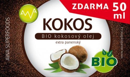 AWA superfoods BIO Kokosový olej 400ml