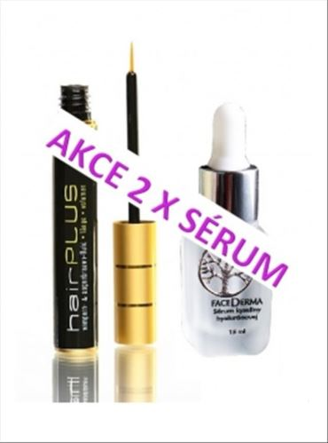 Hairplus sérum a serum kyselina hyaluronová 20ml