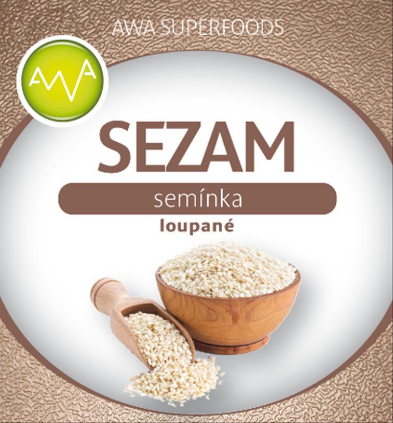 Sezamové semínko loupané 1000g