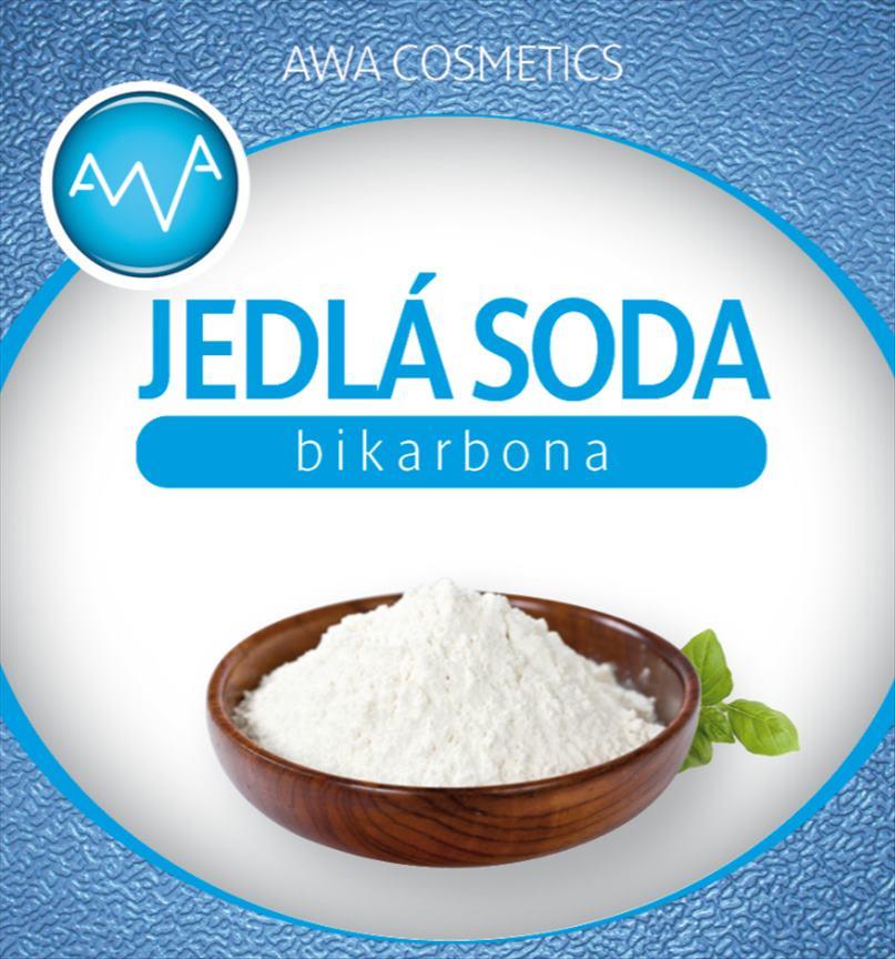 AWA cosmetics Jedlá soda bikarbona 1000g