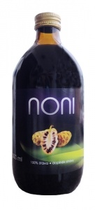 Bio Noni, 100% Bio šťáva z plodů Noni 500 ml