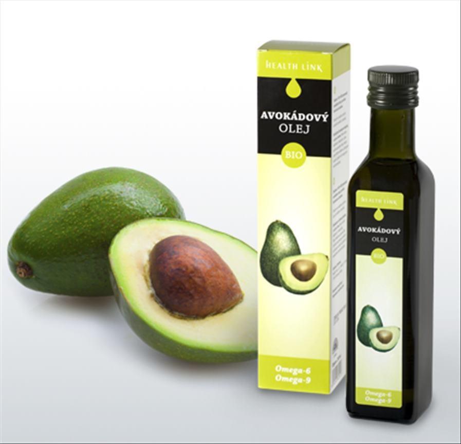 Health link BIO Avokádový olej 250ml
