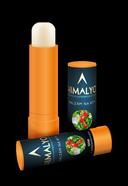 Himalyo Balzám na rty Goji a avokádovým olejem 15 g