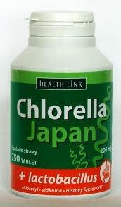 Health Link Chlorella Japan + lactobacillus 750 tbl.