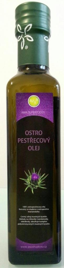 AWA superfoods Ostropestřecový olej RAW 250 ml