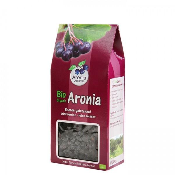 Aronia original Arónie BIO (černý jeřáb, jeřabina), sušené plody 200 g