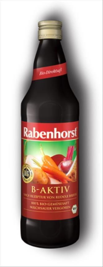 Rabenhorst Bio B-aktiv šťáva Breuss receptura 750 ml