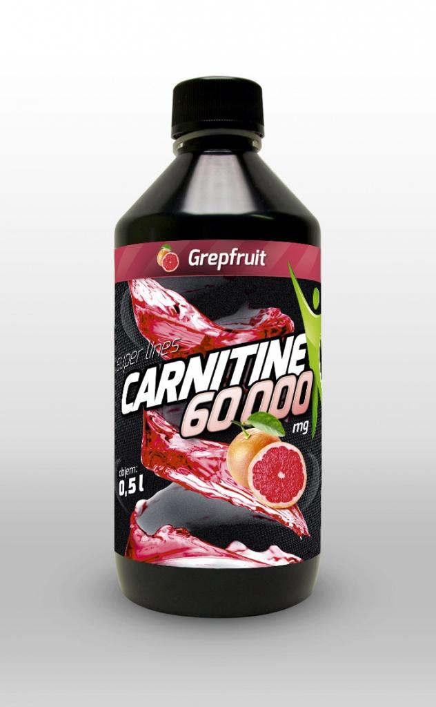 L-carnitin 60 000 mg 500ml, spalovač tuků s příchutí cherry