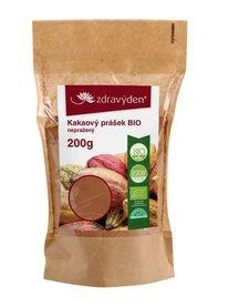 Zdravý den 100 % Bio kakaové boby drcené nepražené 200 g