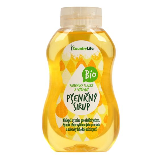 COUNTRY LIFE Pšeničný sirup BIO 250ml