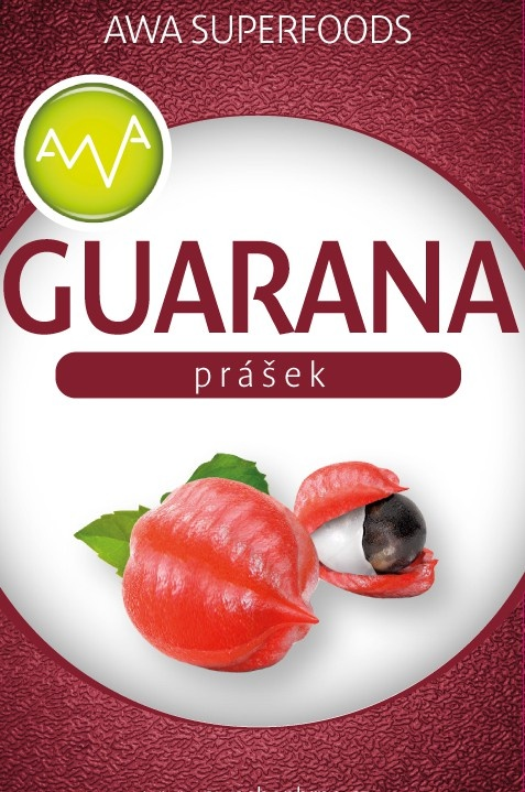 AWA superfoods Guarana prášek 100 g