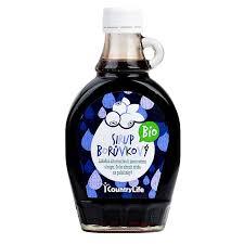 COUNTRY LIFE Sirup borůvkový BIO 250 ml