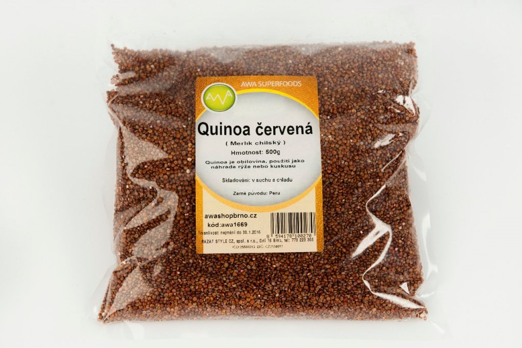 AWA superfoods Quinoa červená 500g