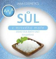 AWA cosmetics Sůl z Mrtvého moře koupelová 250g