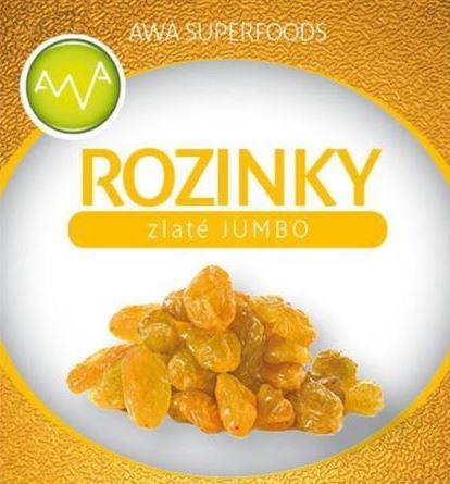 AWA superfoods Rozinky zlaté JUMBO 1000g