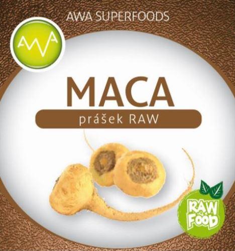AWA suoperfoods Maca RAW prášek 250g