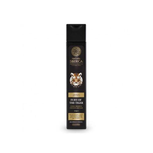 Natura Siberica Energizující šampón na tělo a vlasy - MEN 250ml
