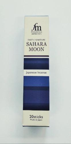 Japonské vonné tyčinky Nippon FM Sahara Moon 20ks