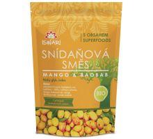 Iswari BIO RAW snídaňová směs mango + baobab 360g