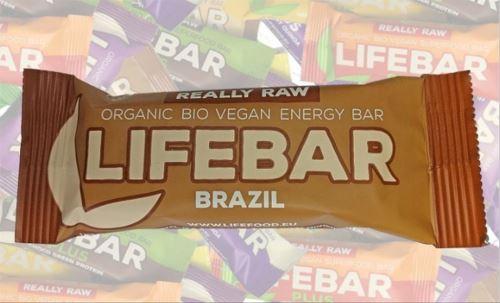 Brazilská BIO RAW, Lifebar 47g