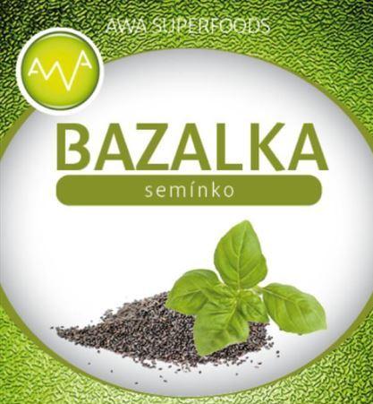 AWA superfoods bazalkové semínko 250g