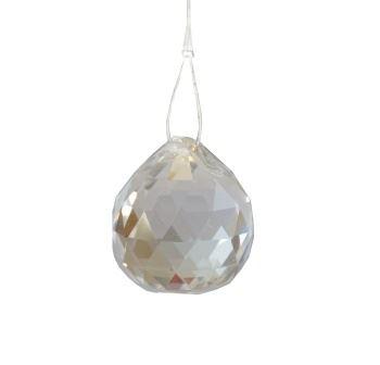 Kříšťálová skleněná koule Feng shui 50mm
