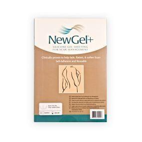 Průhledná náplast ve tvaru kotvy (2ks v balení), NG 326 NewGel+