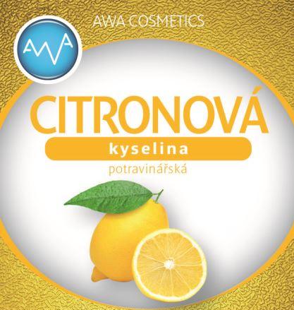 AWA superfoods kyselina citronová 250g