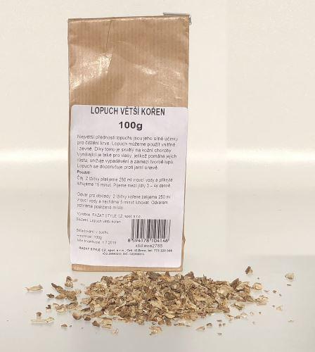 AWA herbs Lopuch větší kořen 100g