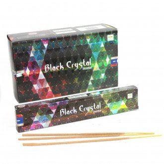 Indické vonné tyčinky Shrinivas Satya Black Crystal 15g