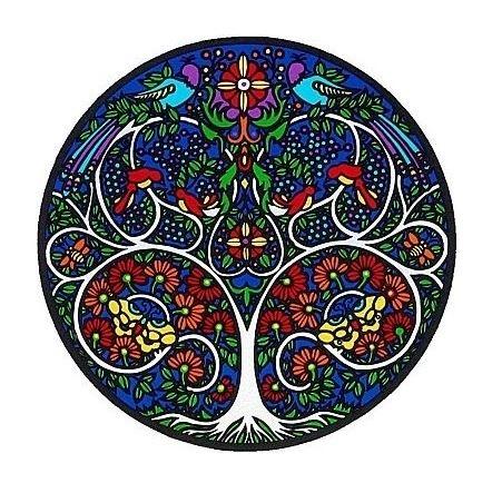 Mandala Sunseal V Tree of Life