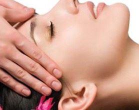 Indická masáž hlavy CHAMPI