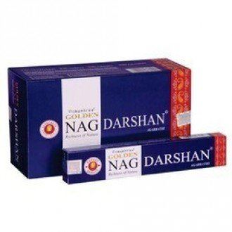 Indické vonné tyčinky Golden Nag Darshan 15g