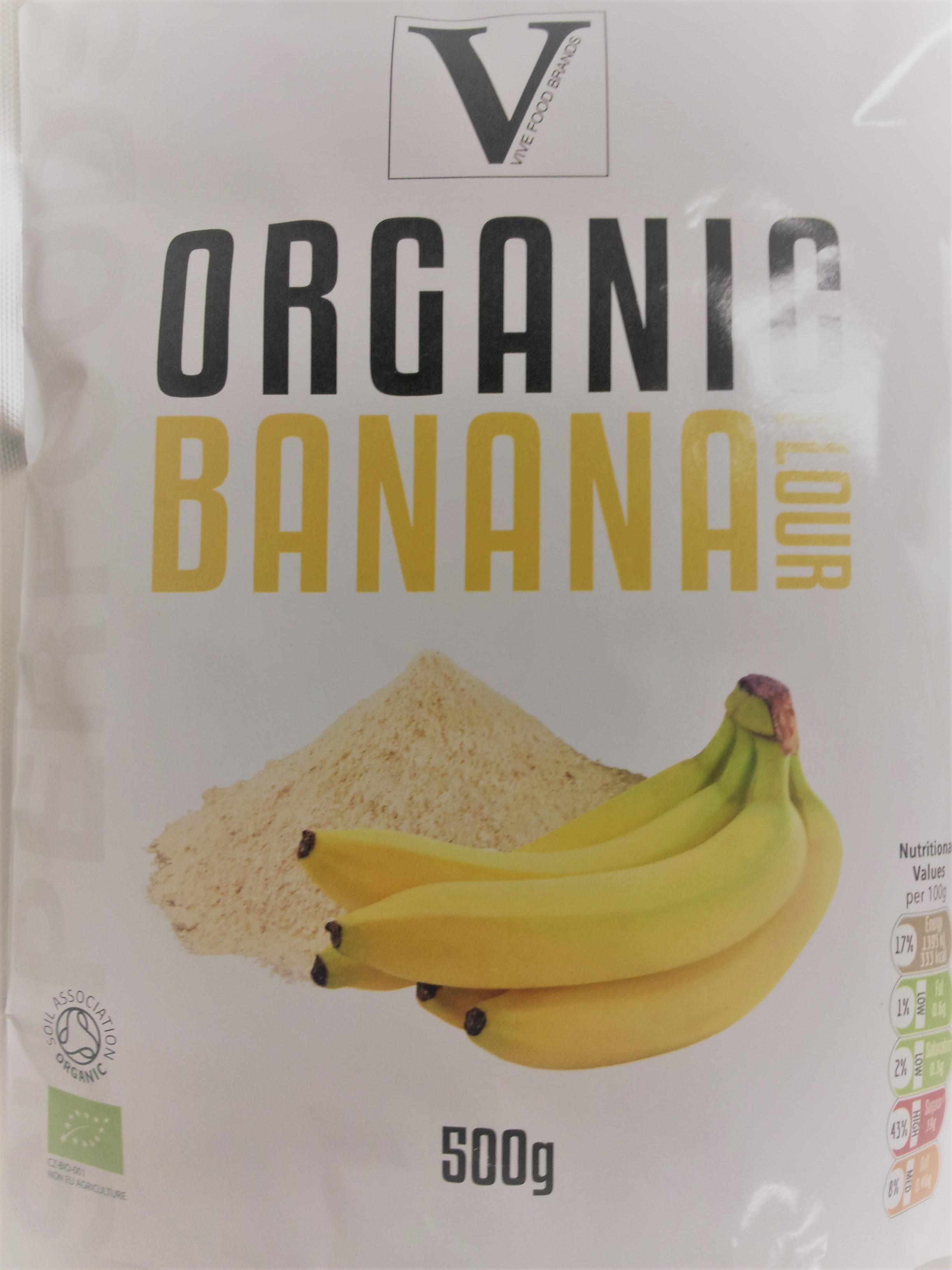 Health Link Banánový prášek BIO 500g