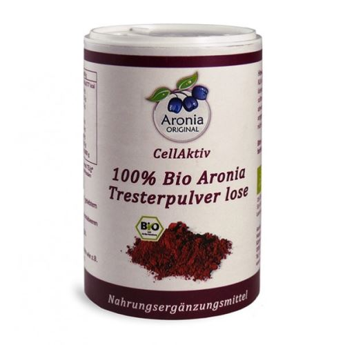 CellActiv Arónie (černý jeřáb, jeřabina) 100% Bio - prášek 100 g v dóze