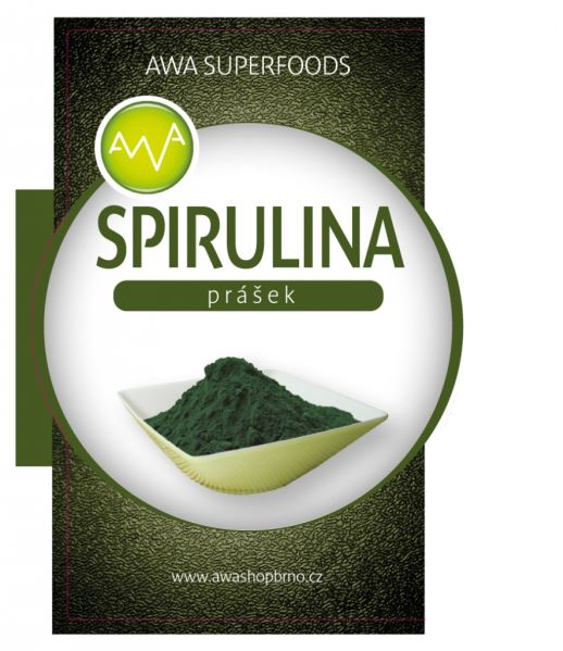 AWA superfoods Spirulina prášek 200 g