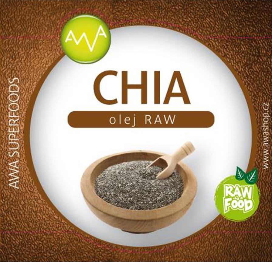 AWA superfoods Chia olej RAW 200ml