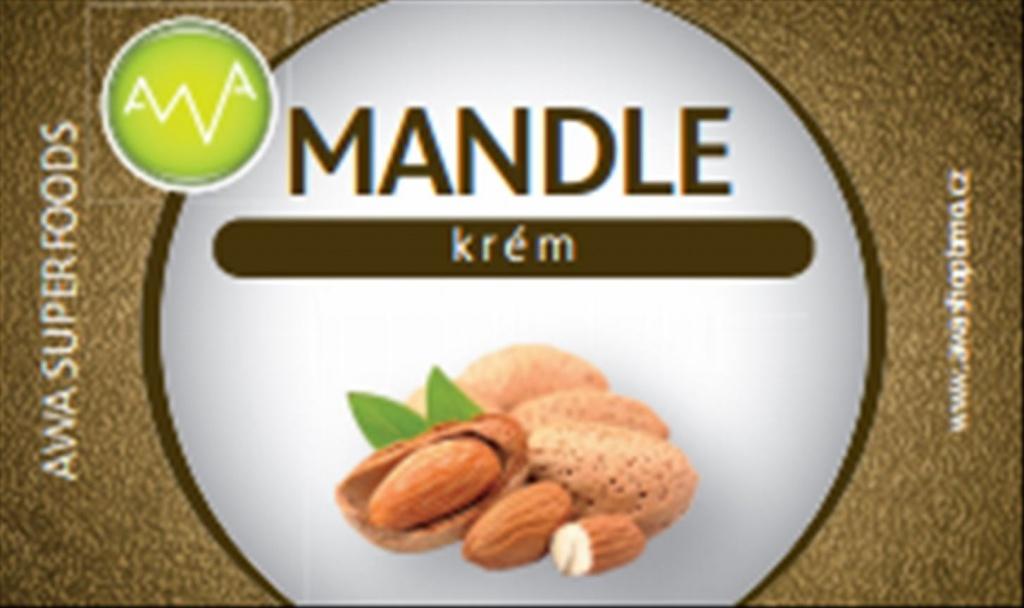 LifeLike Mandlový krém s bílou belgickou čokoládou 180 g