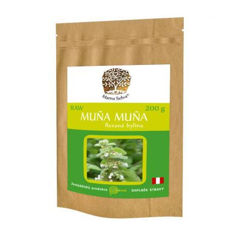 MUNA MUNA řezaná nadzemní část sušené rostliny RAW 200g