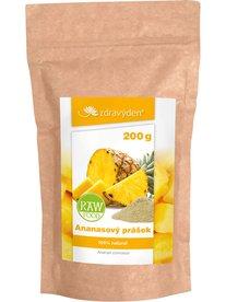 Zdravý den Ananasový prášek RAW 200g