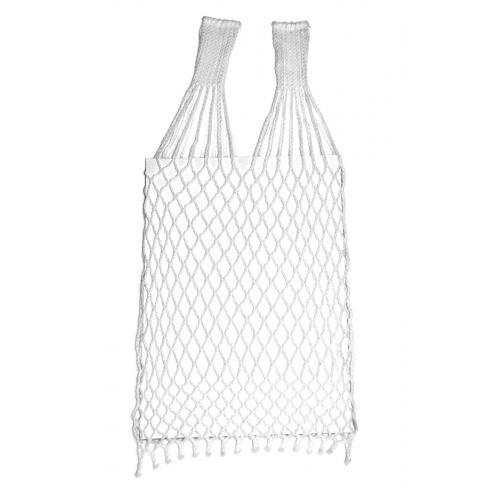 Síťová taška bílá